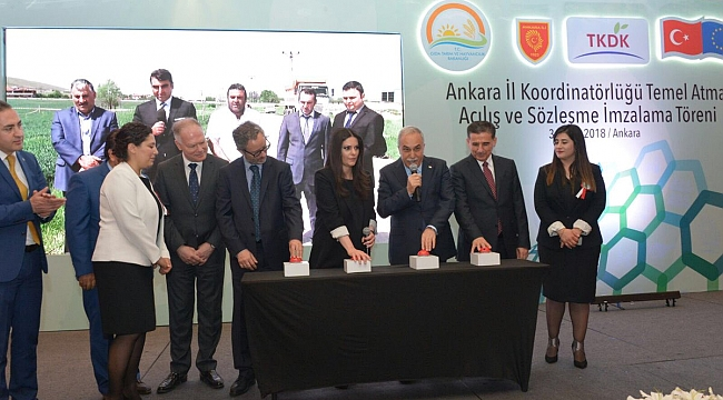 Ankara'ya 96 Milyon Liralık Yatırım