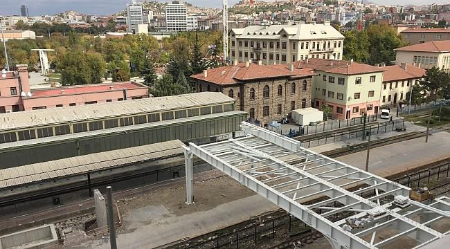 Tarihi Ankara Tren Garı Lojmanlarında Yapılaşma Sinyali