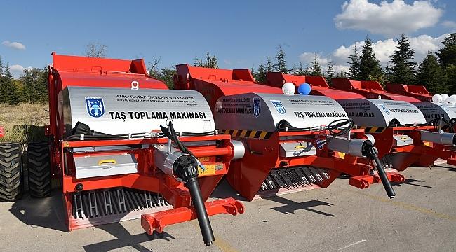 Ankara Belediyesinden Çiftçilere Makina ve Ekipman Desteği
