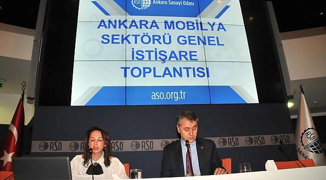 Ankaralı Mobilyacılar, Sorunlarına Çözüm Arıyor