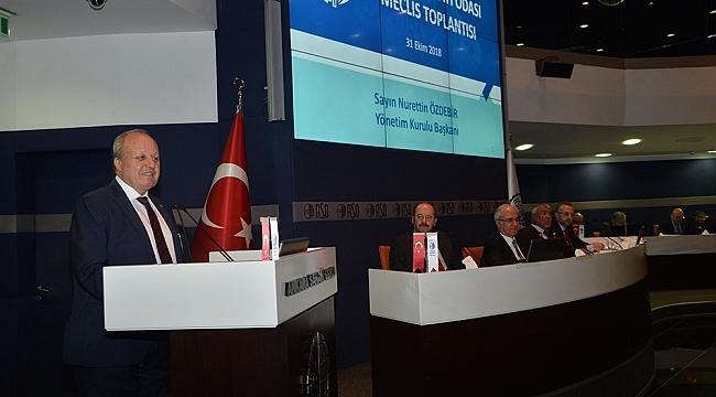 ASO Başkanı Özdebir; 'Üretim Ekonomisi Olmazsa, Yeni Krizler Yaşarız'
