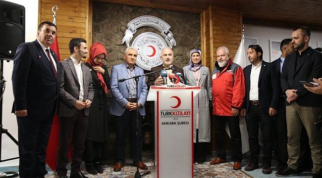 Türk Kızılay'ın Ankara Gençlik Merkezi Açıldı