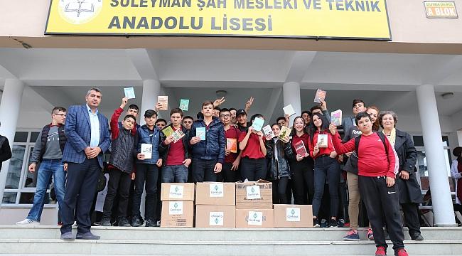 Ankara'dan Türkiye'ye Binlerce Kitap