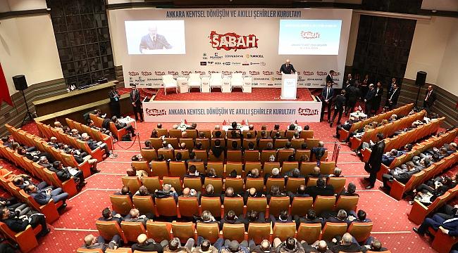 Ankara'da Kentsel Dönüşüm ve Akıllı Şehirler Kurultayı Yapıldı