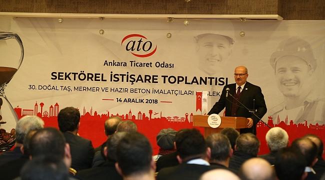 Ato Başkanı Baran; 'Türk Mermerini Dünya Tanıyor'