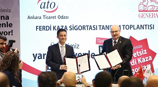 ATO Üyelerine Ferdi Kaza Sigortası