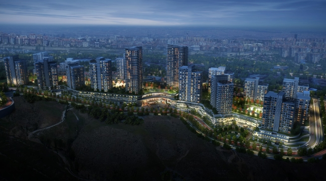 Başkent Emlak Konutları Projesinin Yüzde 70'i Yeşil Alan