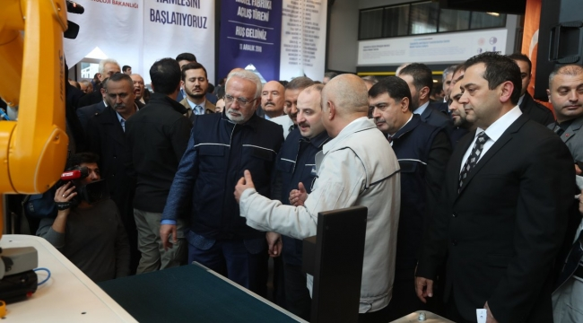 Türkiye'nin İlk Model Fabrikası Ankara'da Kuruldu