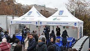 Ankara'da Ucuz Sebze ve Meyve Satışları Başladı