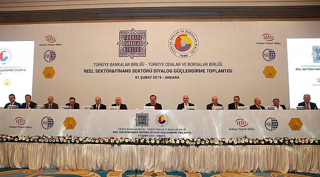 Reel Sektör İle Finans Sektörü Ankara'da Buluştu