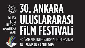 30. Ankara Uluslararası Film Festivali Başlıyor