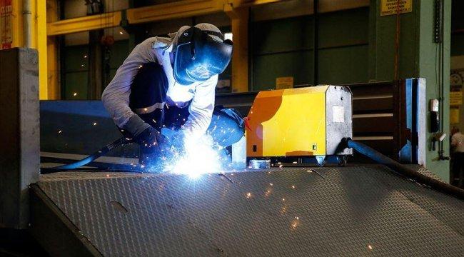 Sanayi üretim endeksi eylülde yüzde 1,7 yükseldi