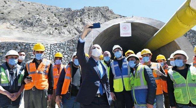 2023'e kadar 650 kilometre tünelimiz olacak