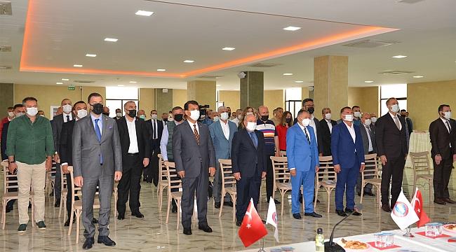 Aydın Erkoç yeniden Masfed başkanı oldu
