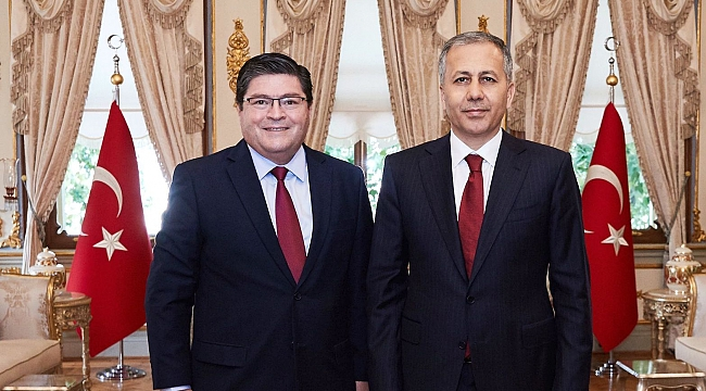 Şili Cumhuriyeti Ankara Büyükelçisi ilk resmi ziyaretini yaptı