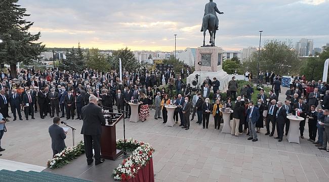 Ankara iş dünyası büyükelçilerle resepsiyonda buluştu