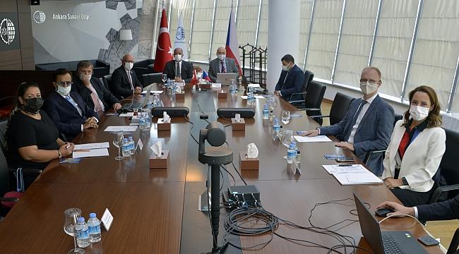 Çekya Büyükelçisi'nden ASO'ya ziyaret
