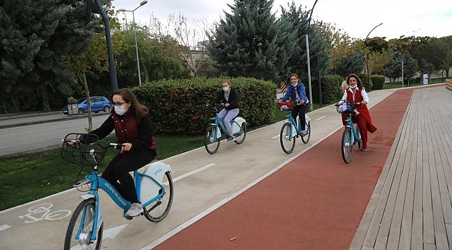 Gölbaşı'nda bisiklet kullanımı artıyor