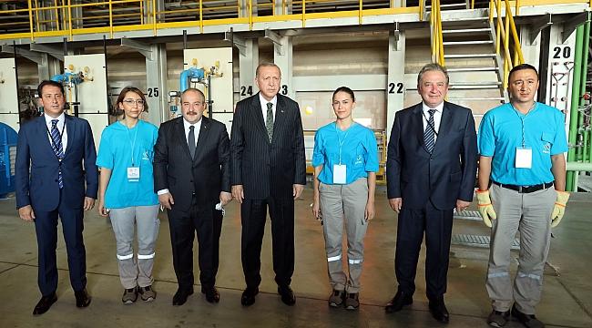 Şişecam, Türkiye'ye 4 milyar TL'lik iki yeni yatırım müjdesi verdi