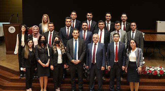 Vergi Müfettişleri Derneğinde yeni başkan seçildi